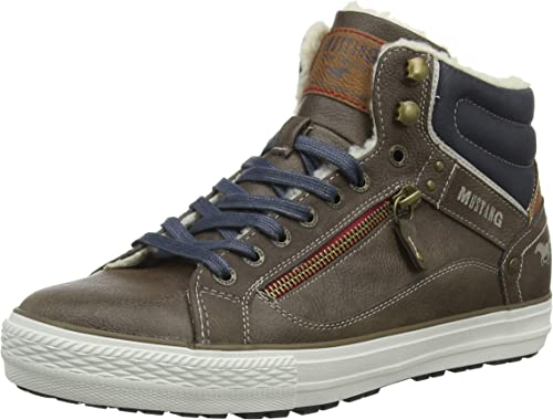 MUSTANG Herren High Top Hohe Sneaker