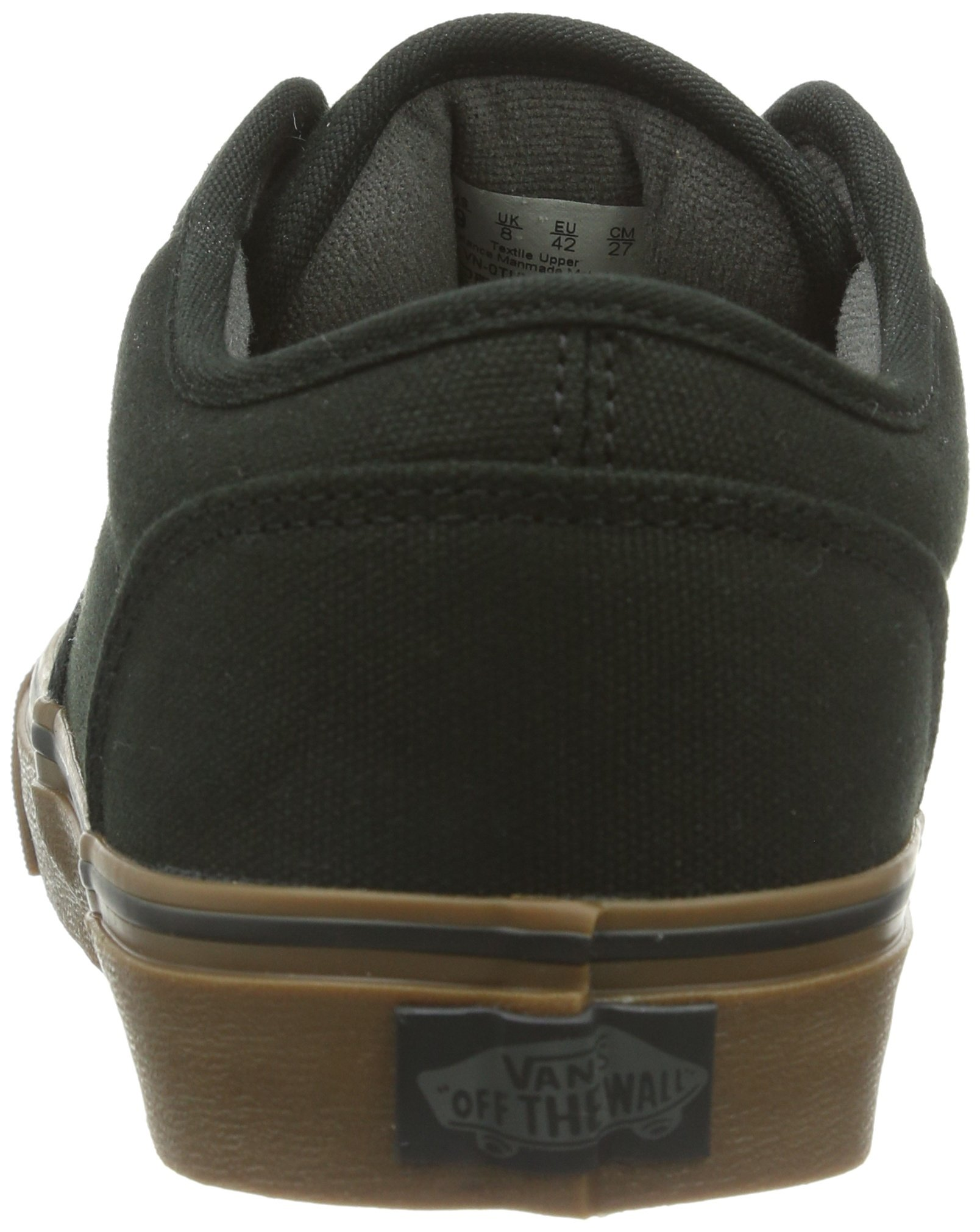 7c537ebac1956 Vans Men s Atwood (12 oz Canvas) Black Gum Skate Shoe 10 Men US - VTUYD8E    Fashion Sneakers   Clothing