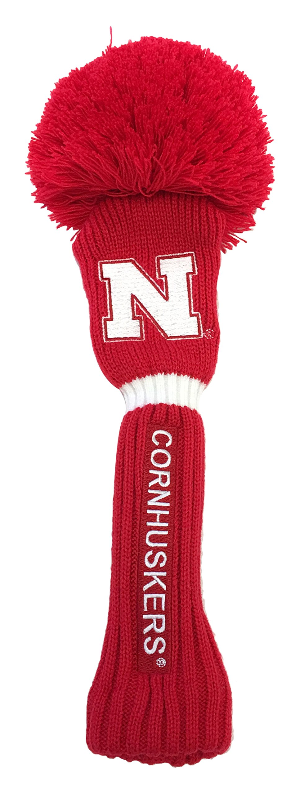 NCAA Nebraska Cornhuskers Pom Fairway Head Cover, Red