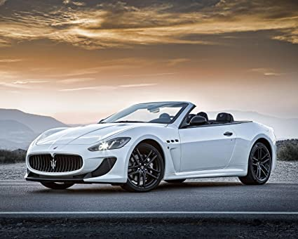 Amazon.com: Maserati Póster de coche cartel decoración de ...
