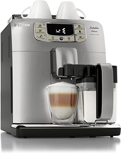 878773a9274 Image Unavailable. Image not available for. Color  Saeco Intelia Cappuccino  Deluxe Automatic Espresso ...
