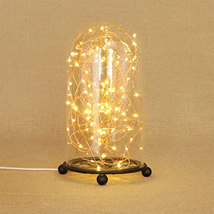 Lámpara De Mesa Lámpara De Luz LED De Luz Cálida Lámpara De Mesa Decoración Del Dormitorio