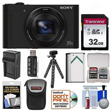 Amazon.com: Sony Cyber-Shot DSC-WX500 - Cámara digital Wi-Fi ...