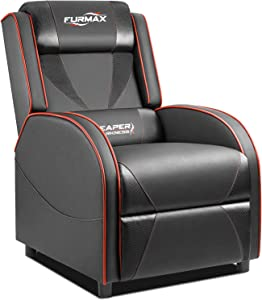 Furmax Gaming Recliner Chair Racing Style Single Ergonomic