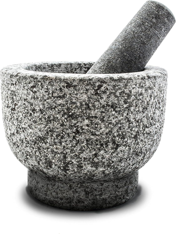 mortero y triturador de granito
