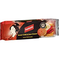 Fantastic Rice Crackers Sweet Chilli and Sour Cream, 100g