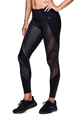7ddee387fc Amazon.com: RBX Active Women's Workout Legging with Mesh: Clothing