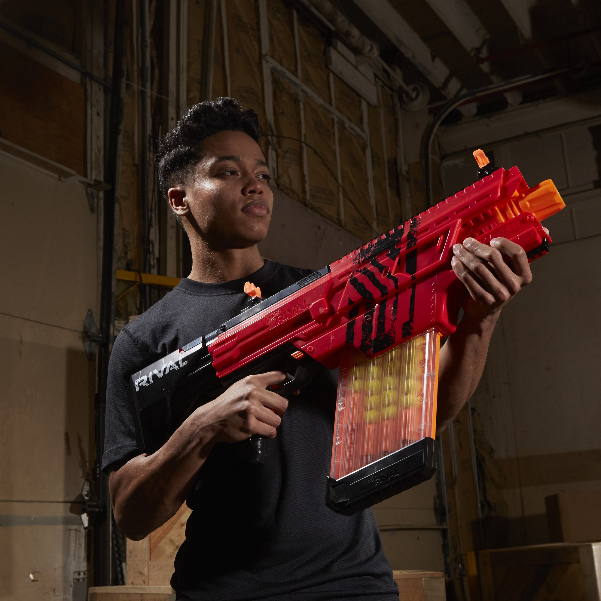 Nerf Rival Khaos MXVI-4000 Blaster (Red) by NERF (Image #8)