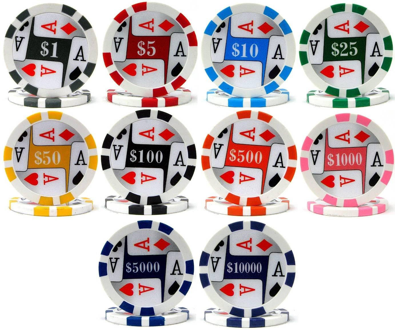 【税込】 4つ( 4つ( 4 Chips ) Acesプレミアム500バルクPoker Chips – Choose B003KWKWN0 B003KWKWN0, カワイムラ:6b64b8c0 --- arianechie.dominiotemporario.com