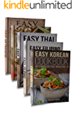 Easy Asian Cookbook Box Set: Easy Korean Cookbook, Easy Filipino Cookbook, Easy Thai Cookbook, Easy Indonesian Cookbook, Easy Vietnamese Cookbook (Korean ... Recipes, Asian Cookbook 1) (English Edition)