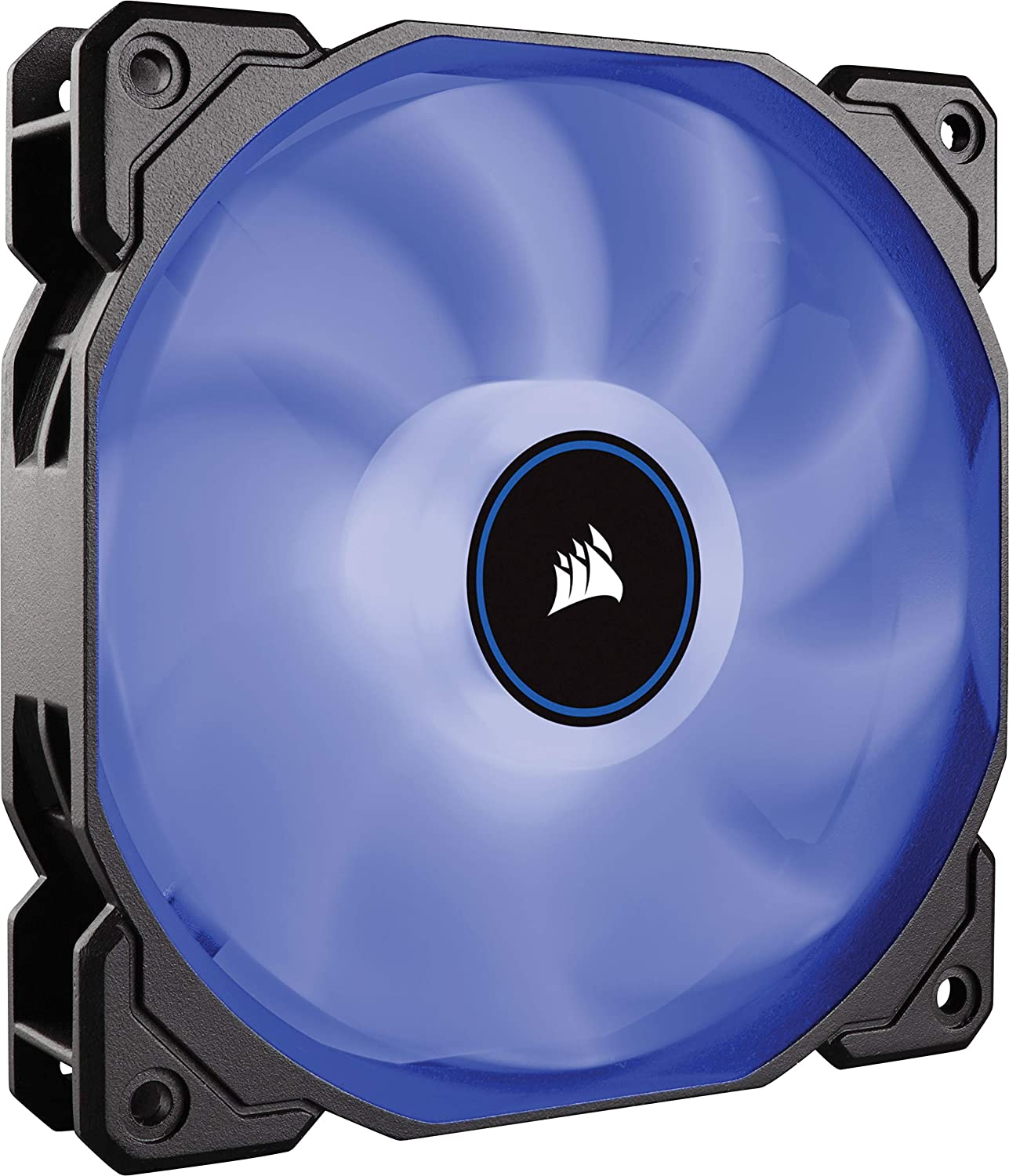 CORSAIR AF140 LED Low Noise Cooling Fan, Single Pack - Blue 140 mm
