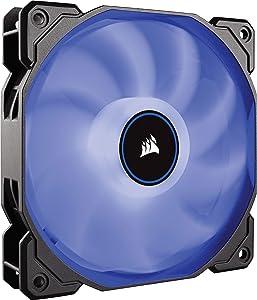 CORSAIR AF140 LED Low Noise Cooling Fan, Single Pack - Blue 140 mm