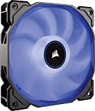 Corsair AF120 Hydraulic Fan, Blue LED, 120mm x 25mm, Single Pack (2018)