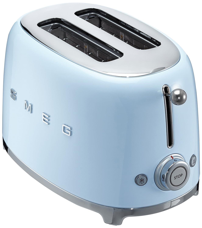Smeg TSFPBEU Tostadora W color azul