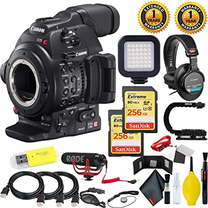 Amazon com : Canon EOS C100 Mark II Cinema EOS Camera Dual