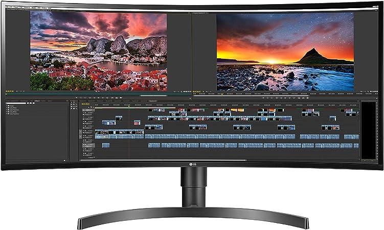 LG 34UC80-B Monitor IPS QHD curvado ultra ancho de 34 pulgadas 21:9 con carga rápida USB: Amazon.es: Electrónica
