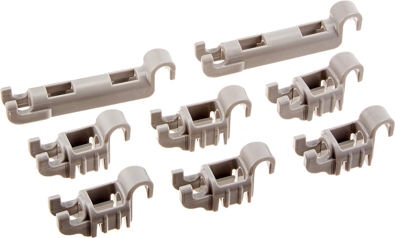 Bosch Dishwasher Lower Rack Flip Tynes Plastic Bearing Clips Kit Amazon Co Uk Large Appliances
