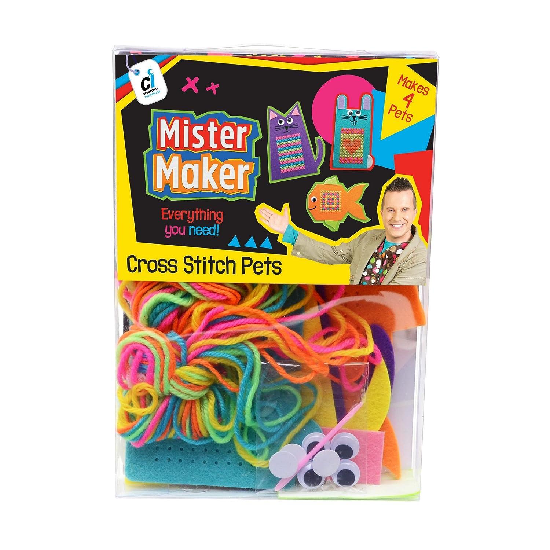 Mister Maker 88472 クロスステッチ ペット クラフトキット B073WQJHTV