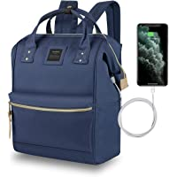 Mochila Mujer Casual Escolar de Moda para Portatil 15.6 Pulgadas, Backpack Mochilas Impermeable para Trabajo Viaje…