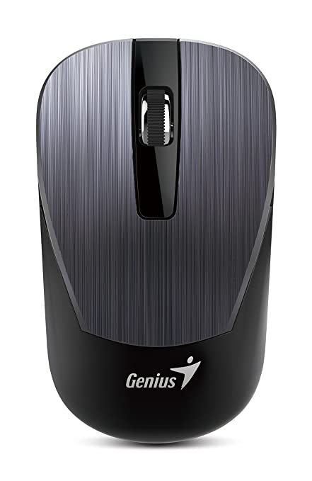 409f3345507 Amazon.in: Buy Genius 7 Series Metallic Comfortable Stylish Wireless Mouse  (NX-7015/IRON) Online at Low Prices in India | The Genius Brand Reviews &  Ratings