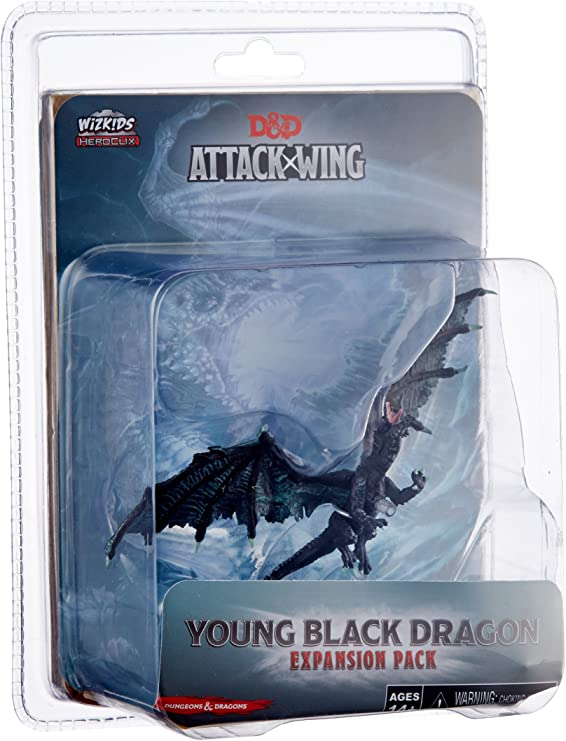 Wizards of the Coast D&D Attack Wing Wave Nine Black Dragon Expansion Pack Action Figure: Amazon.es: Juguetes y juegos