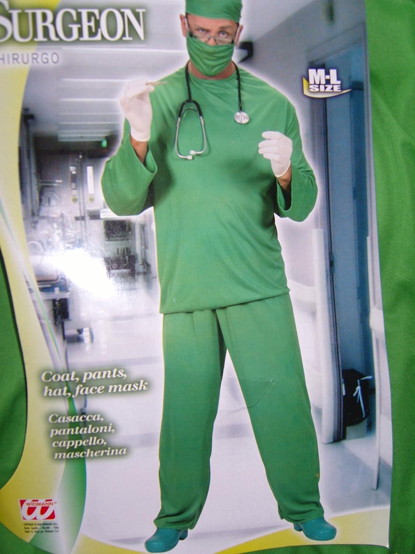 Desconocido Traje de cirujano| talla M: Amazon.es: Juguetes y juegos