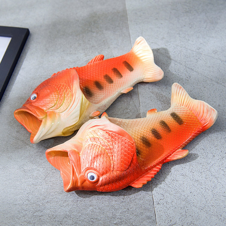 Oasap Strandschuhe Slippers Flip Flops Pantoffeln Hausschuhe Fisch Form HCZ1zcJo