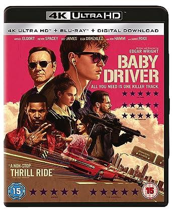 baby driver 2 disc 4k blu ray 2017 region free amazon co uk rh amazon co uk