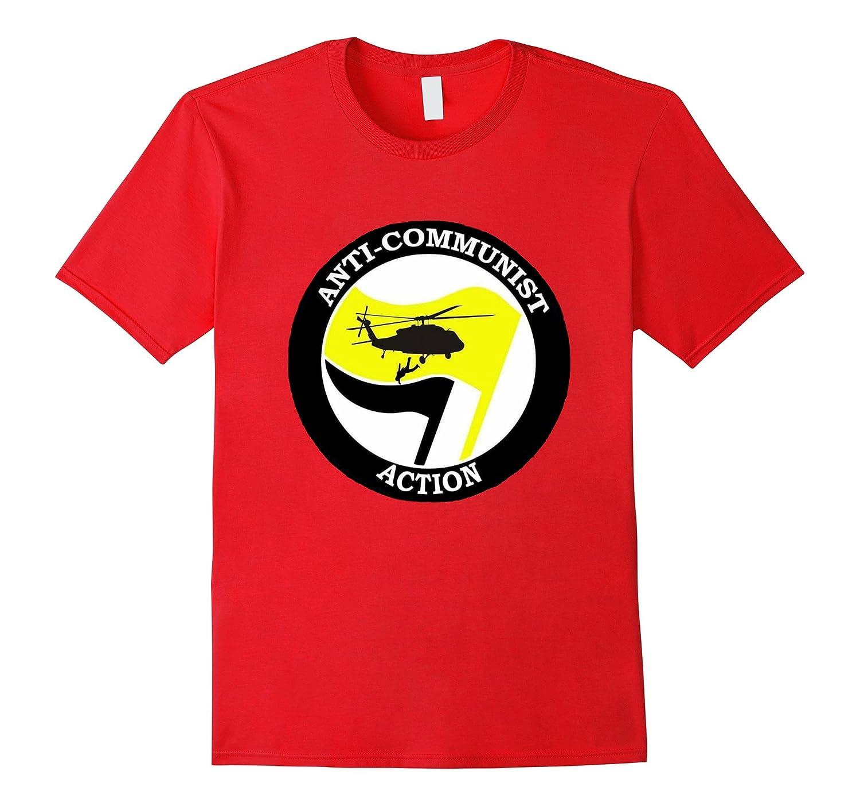 Anti-Communist Action - Alt-Right Anti-Antifa T-shirt-Vaci