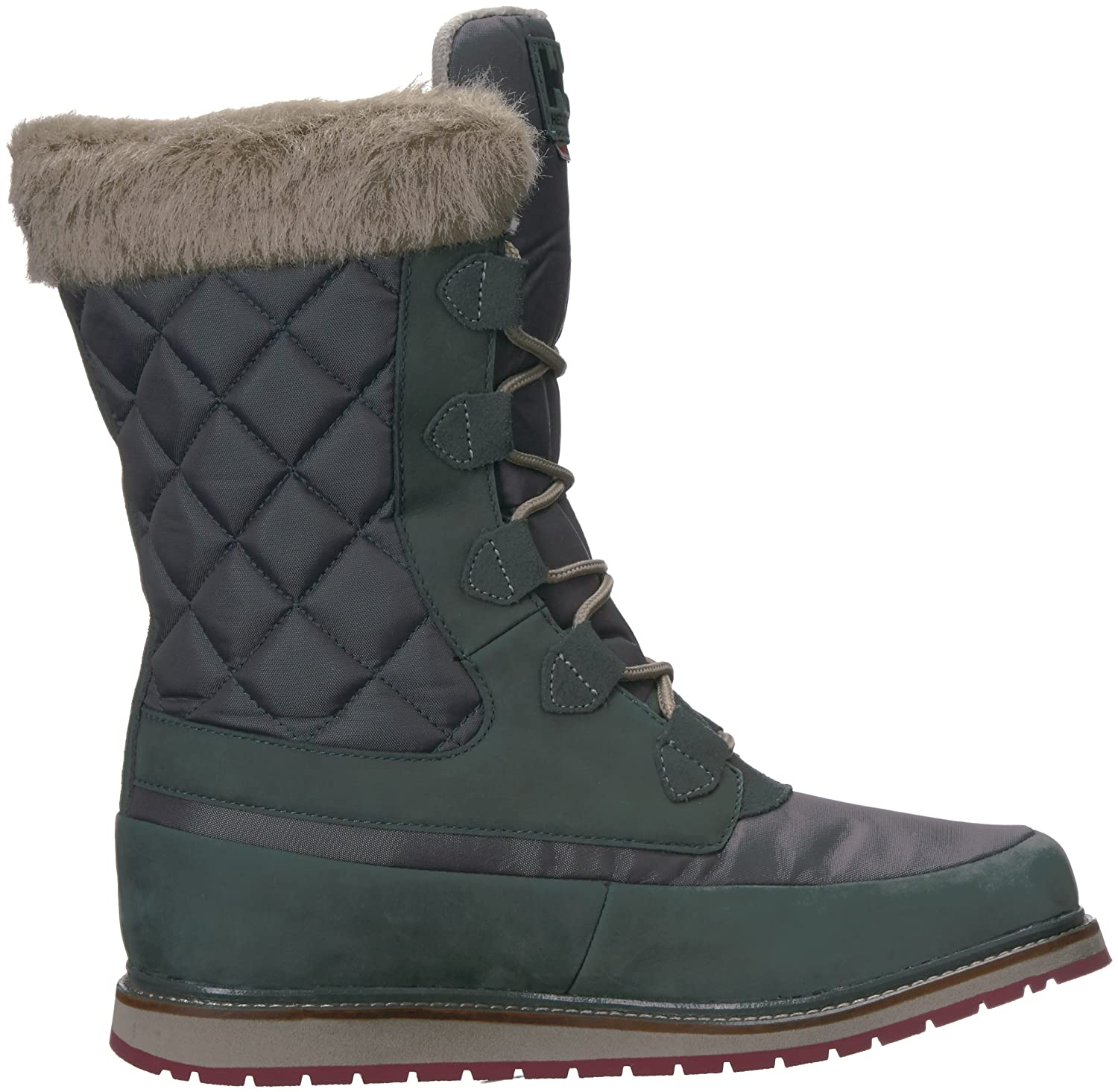 Helly Hansen Women's Arosa HT Winter Boot B01MUVVW8T 10 B(M) US|Darkest Spruce/Rock/La