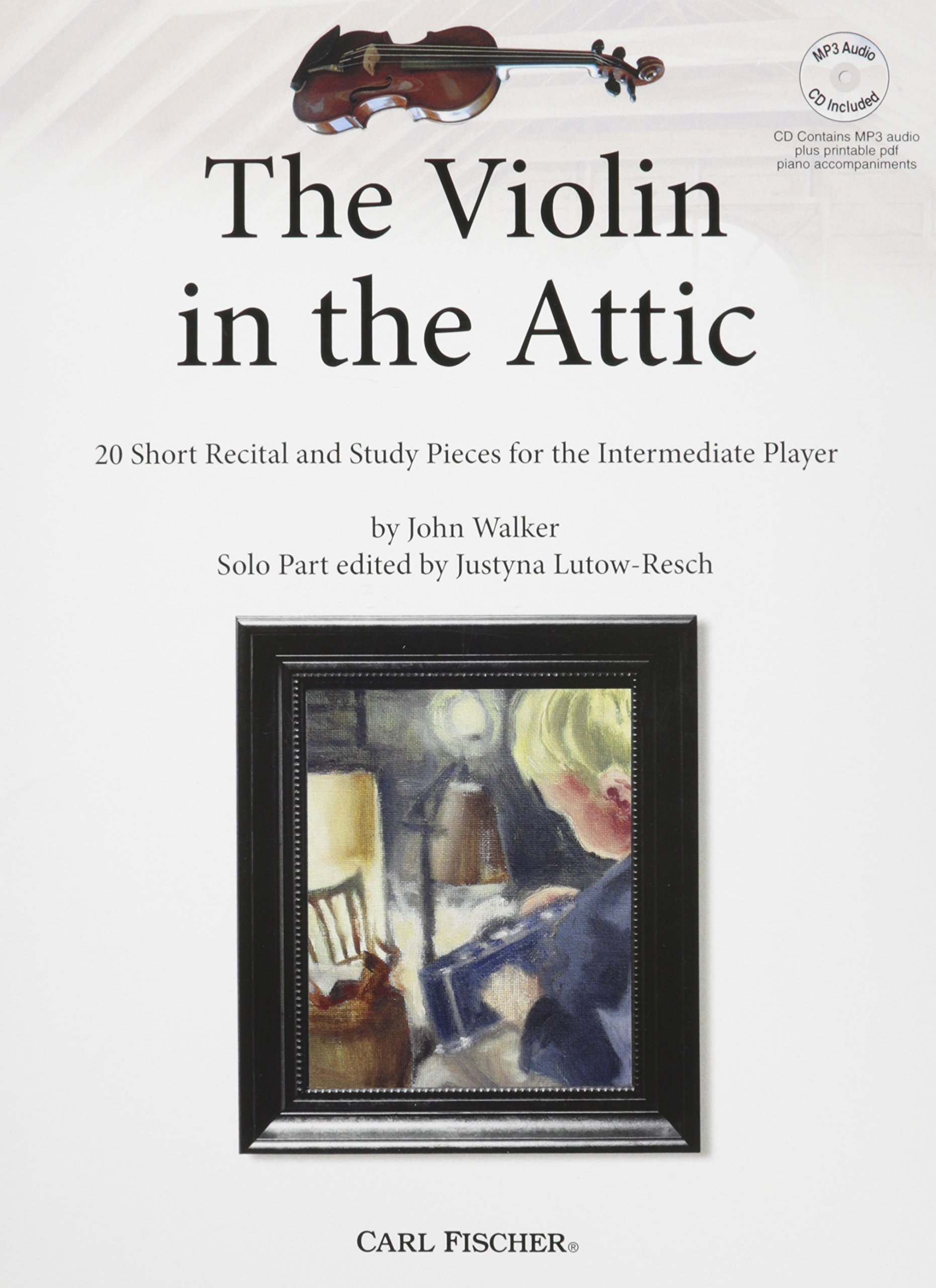 Download BF98 - The Violin in the Attic: 20 Short Recital and Study Pieces for the Intermediate Player pdf