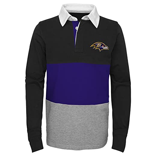 6274c52a Outerstuff NFL Boys State of Mind Long Sleeve Rugby Top