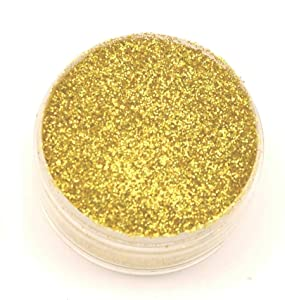Barco Hologram Glitter (8 grams each container) for Cakes, Cupcakes, Waffles. (Gold)