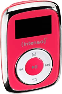 Intenso Music Mover MP3, 8GB - Mp3 Player, LCD Display, USB 2.0, Pink, incl. Stereo Headphones