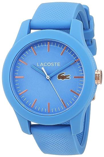 Lacoste Reloj Análogo clásico para Mujer de Cuarzo con Correa en Silicona 2001004