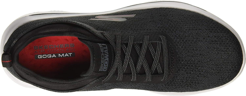 Skechers mens 54740 Go Walk Evolution Ultra - Logic Black Red