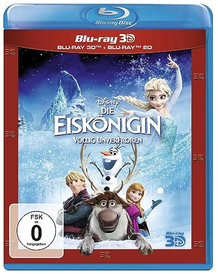 Die Eiskönigin Völlig Unverfroren 2d 3d Blu Ray