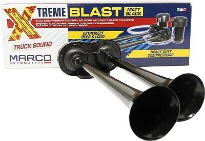 Marco Super Loud 148DB Extreme Blast Premium Air Horn Car Truck SUV Black