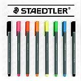 Staedtler Triplus Lot de 8 feutres fins Couleurs pastel (6 + 2 feutres gratuits)