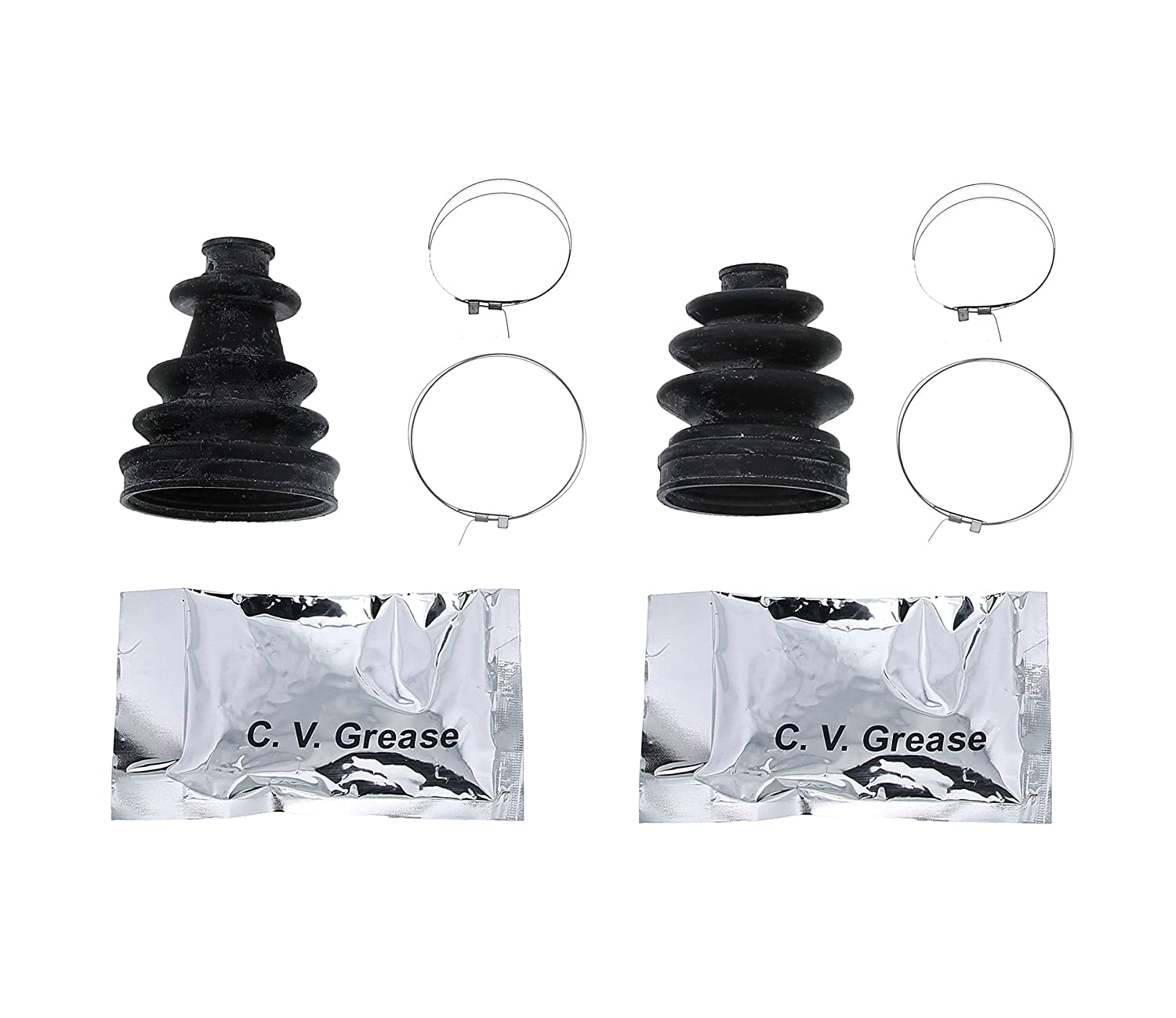 Polaris RZR 800 CV Boot Kit Rear Inner and Outer Rubber 2011-2014