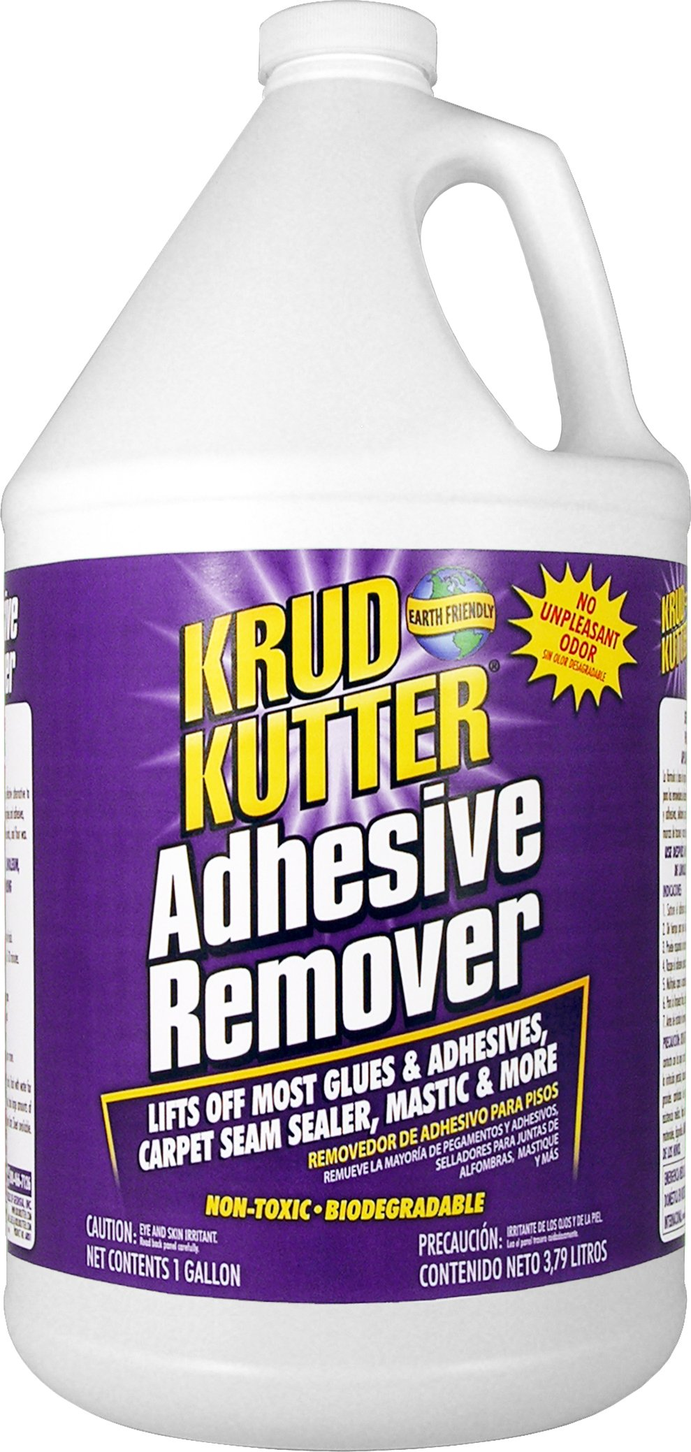 Krud Kutter AR01 Clear Adhesive Remover with Mild Odor, 1 Gallon by Krud Kutter