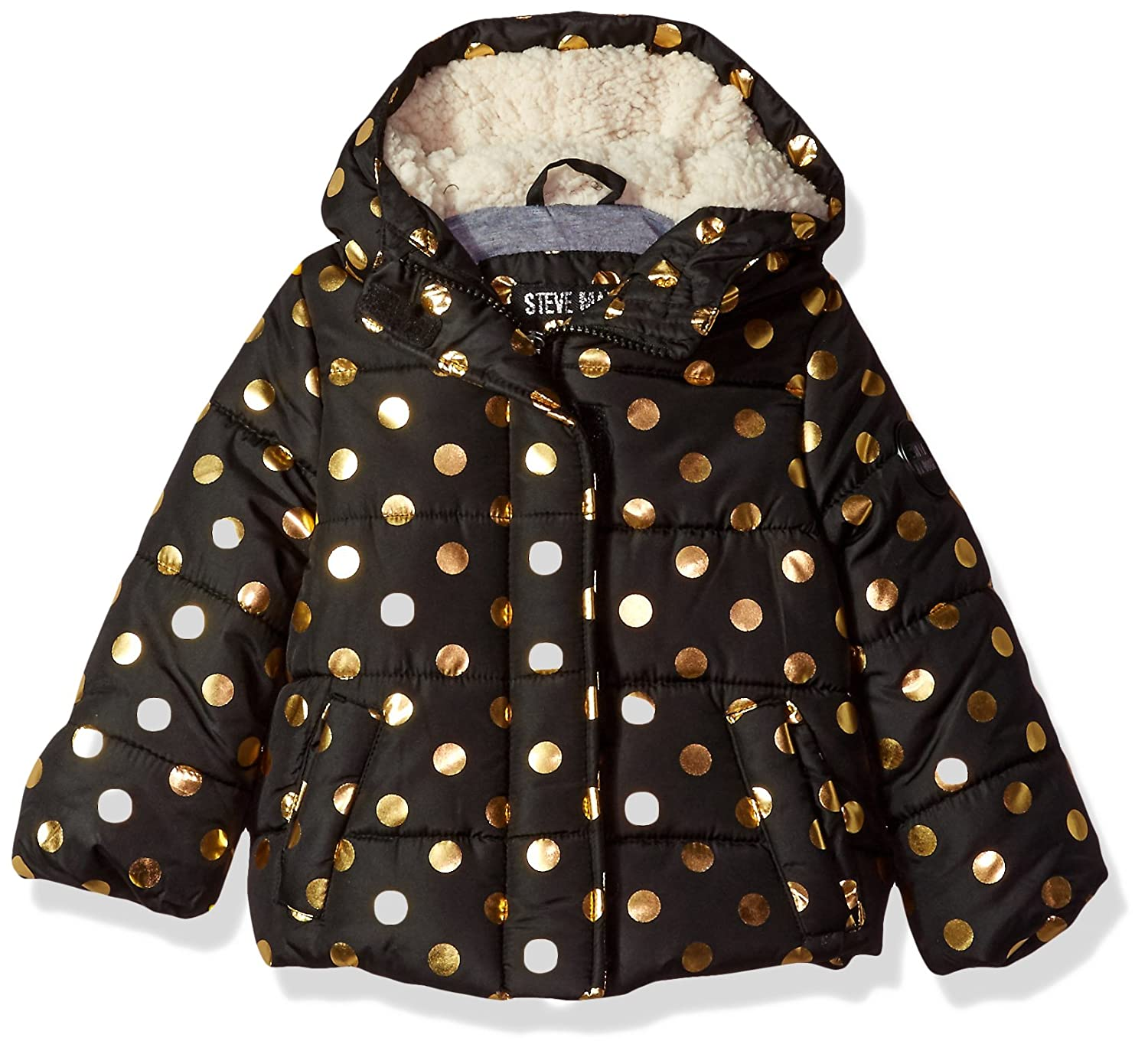 More Styles Available J1A819H Steve Madden Girls Fashion Outerwear Jacket