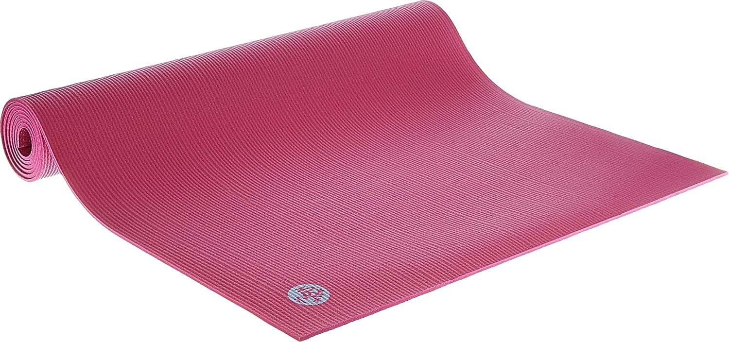 Manduka Prolite Yoga and Pilates Mat 4.7mm Thick, Non-Slip, Non-Toxic, Eco-Friendly, Long. Made with Dense Cushioning for Stability and Support