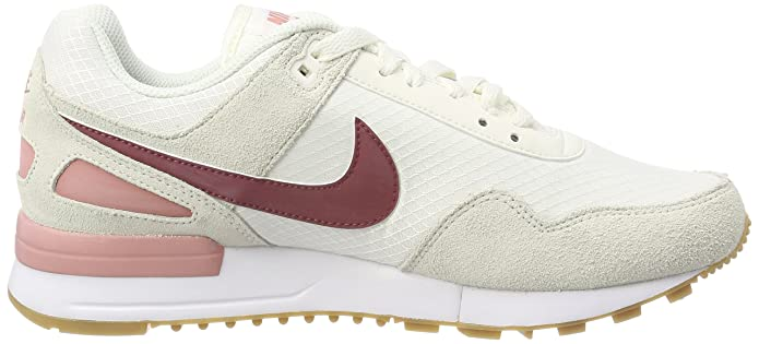 W Air Pegasus 89, Zapatillas de Running para Mujer, Beige (Vela/Oporto/Rojo Stardust 101), 36 EU Nike