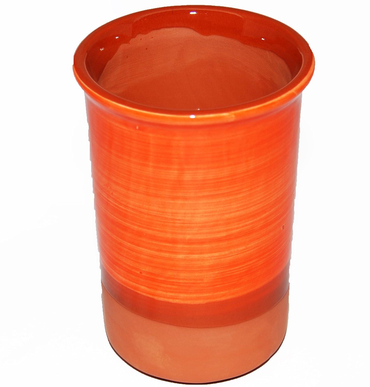 Orange Spanish Style Ceramic Wine Cooler