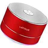 LENRUE Portable Wireless Bluetooth Speaker with Built-in-Mic,Handsfree Call,AUX Line,TF Card,HD Sound and Bass for…
