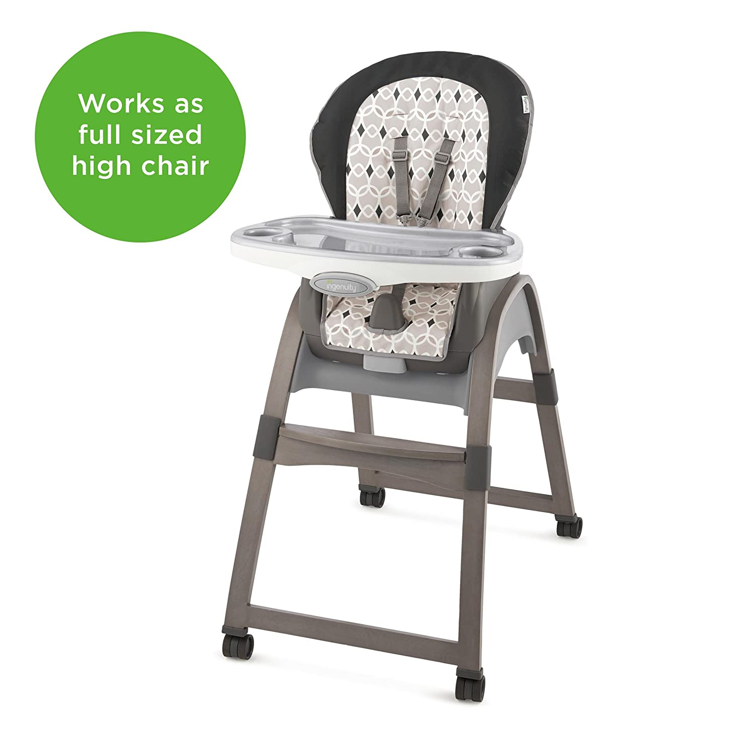 Strange Ingenuity 3 In 1 Wood High Chair Ellison High Chair Toddler Chair And Booster Gmtry Best Dining Table And Chair Ideas Images Gmtryco