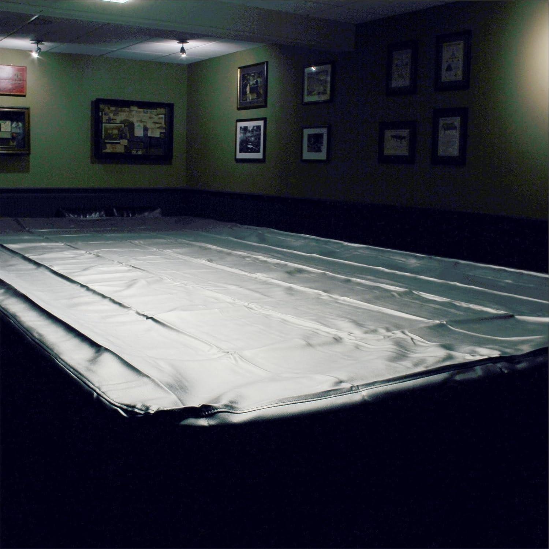 Spartan Heavy Duty wasserabweisender Full Größe Snooker Tisch, –12ft Schwarz Jonny 8 Ball