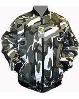 Dallaswear - Adults Camo MA1 Bomber Flight Pilot Biker Security Army Jacket