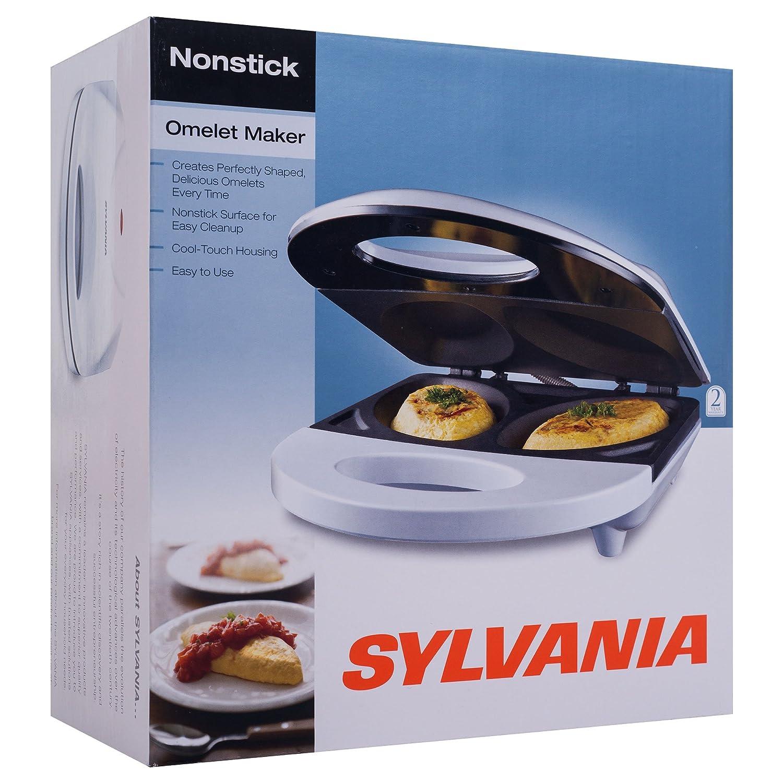 Amazon.com: Sylvania SW-086 Nonstick Omelet Maker: Omelet Pans ...